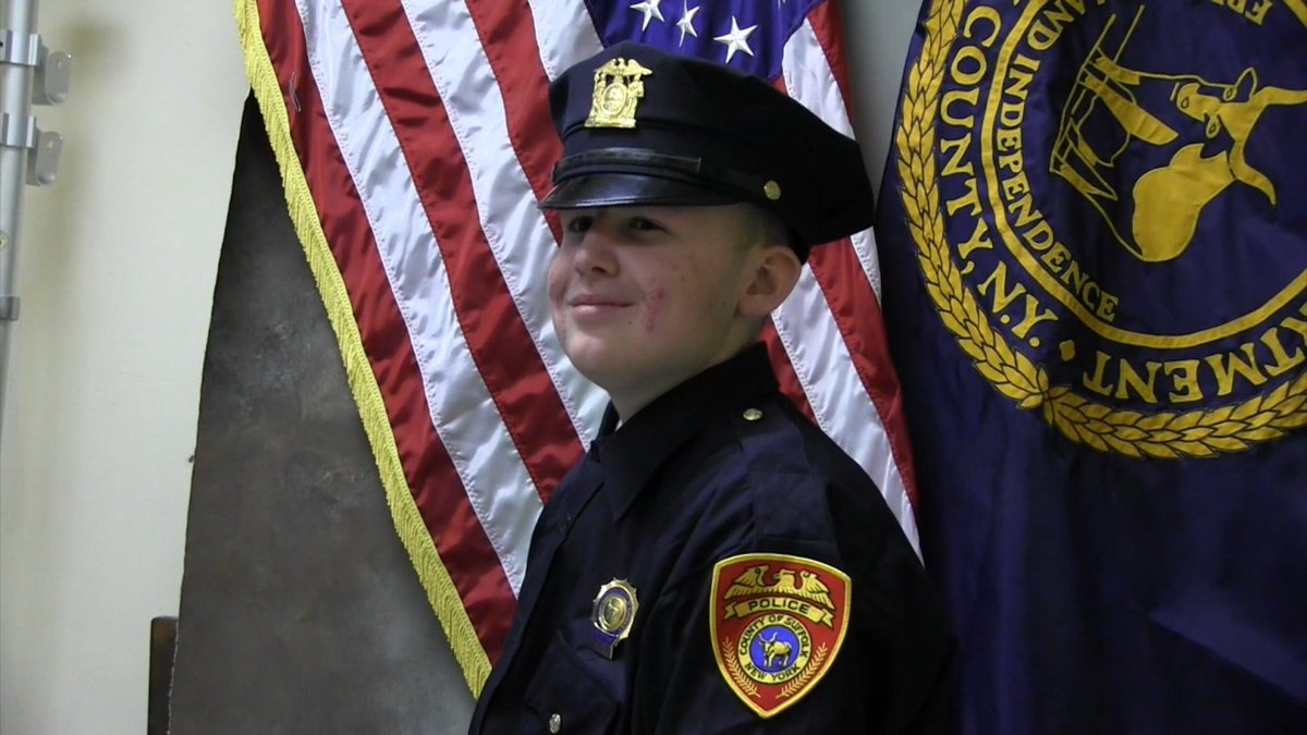 Teen Dies Of Cancer Months After Being Sworn In As Detective For A Day