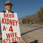 Devoted husband, 74, walks miles per day to find wife a kidney - | WBTV Charlotte