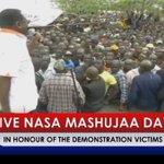 NASA IN KISUMU, RAILA ODINGA MASHUJAA DAY, part 1