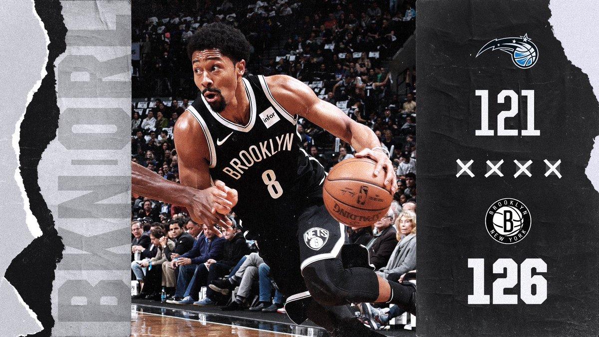 Ook de Brooklyn Nets pakken de zege! #WeGoHard #NBA https://t.co/yGvnQLUmJr