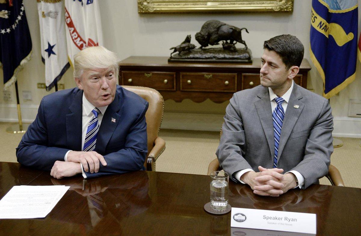 Paul Ryan mocked Donald Trump's sycophantic cabinet, tweets and Steve Bannon