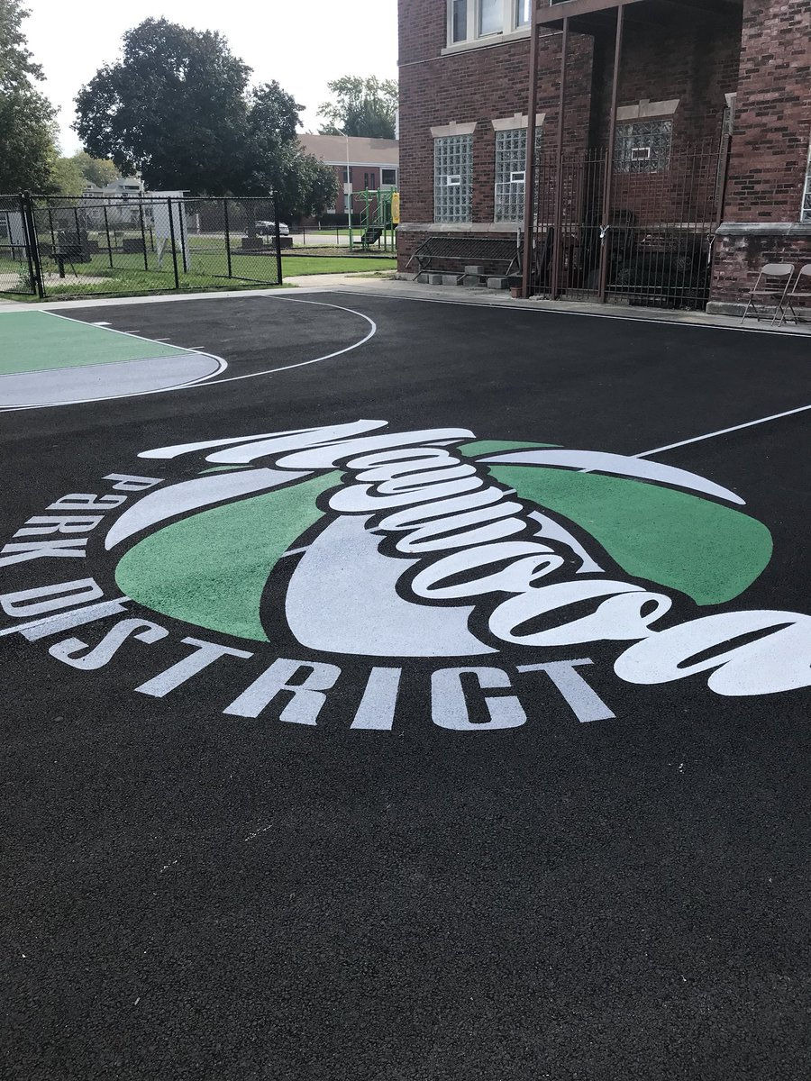 test Twitter Media - Great day in the Village of Maywood today with the ribbon cutting for the new playgrounds at 9th and Madison.  Maywood is on the move! https://t.co/E5nBL9mAyc