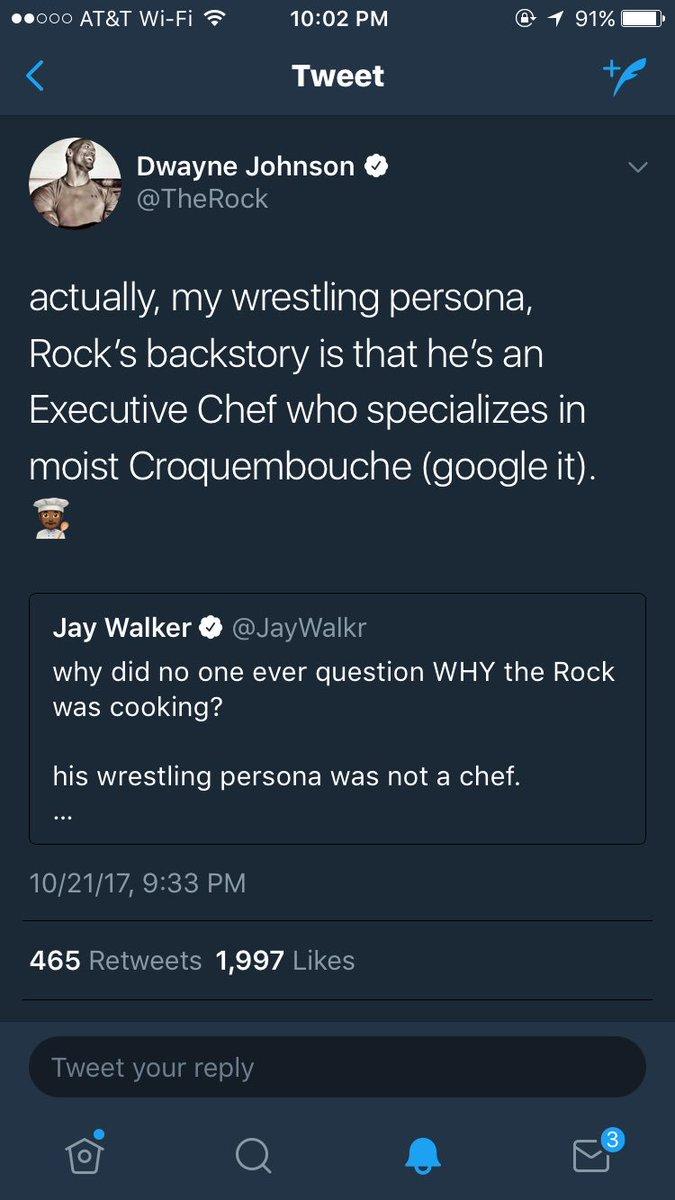 RT @JayWalkr: Ladies and gentlemen, we finally know what @TheRock was cooking. https://t.co/UfZspiPzlU