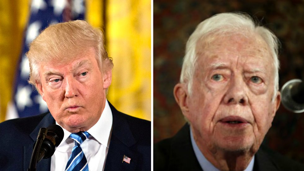 Jimmy Carter: Trump is 'exacerbating' racial divisions in the US https://t.co/IONth0ky42 https://t.co/UlOIeAtfZK