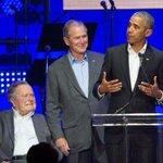cinq anciens présidents... et Lady Gaga réunis pour les sinistrés des ouragans