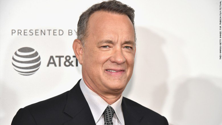 'If you're concerned about what's going on today, read history,' Tom Hanks says https://t.co/SrxZK7Emda https://t.co/3DpCsH3bak