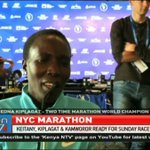 Keitany, Kiplagat and Kamworor ready for New York Marathon