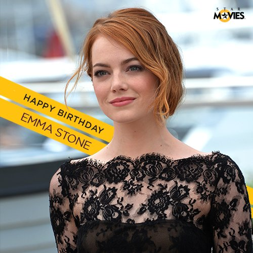 Happy Birthday to the charming and quirky Emma Stone!