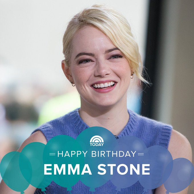 Happy birthday, Emma Stone!