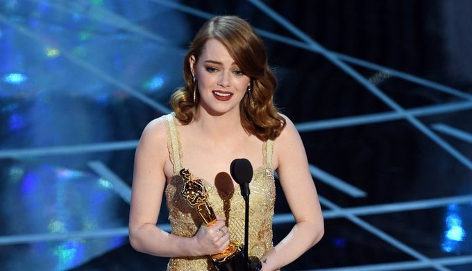 Happy birthday to Oscar\s reigning Best Actress, Emma Stone!