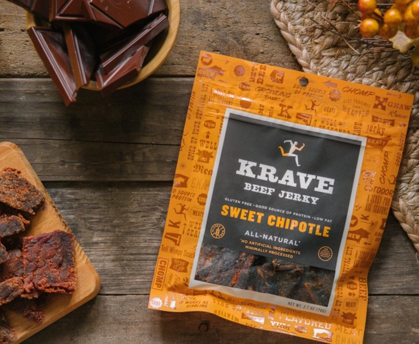 Nothing spooky about my fall treat, going all-natural with @KraveJerky #trickortreat #youhavetotryit #amazing https://t.co/gwE6jCCuuh