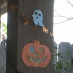 Oklahoma woman says someone destroyed her handmade Halloween decorations