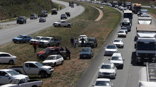 South Africa sees protests against murders of white farmers
