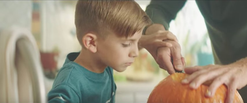 This touching new PSA takes aim at gender norms ahead of Halloween: