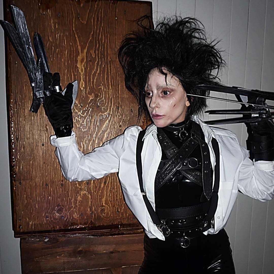 Lady Gaga is giving us a million reasons to love Halloween with this costume.