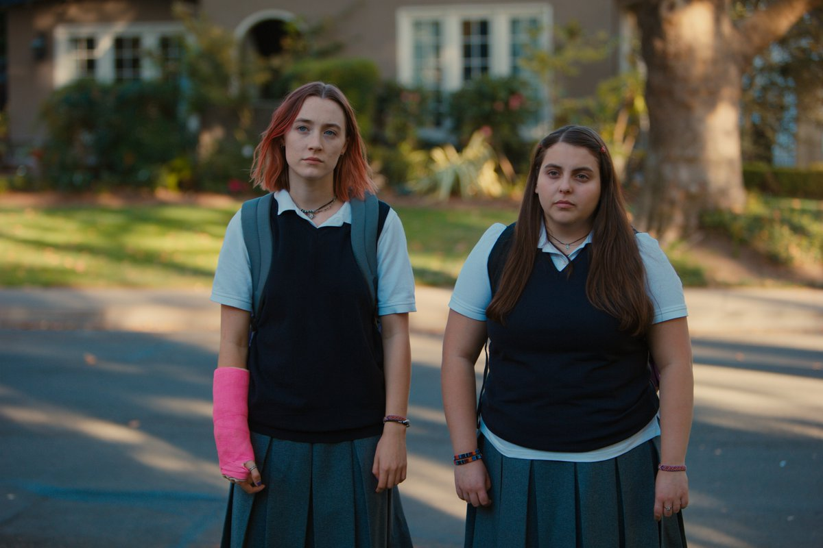 "test Twitter Media - ""Lady Bird"" opens tonight, starring  luminous Saoirse Ronan. Our reviewer found it crackling good. https://t.co/nMgHKoLkQr @LadyBirdMovie https://t.co/qp8jatoorH"