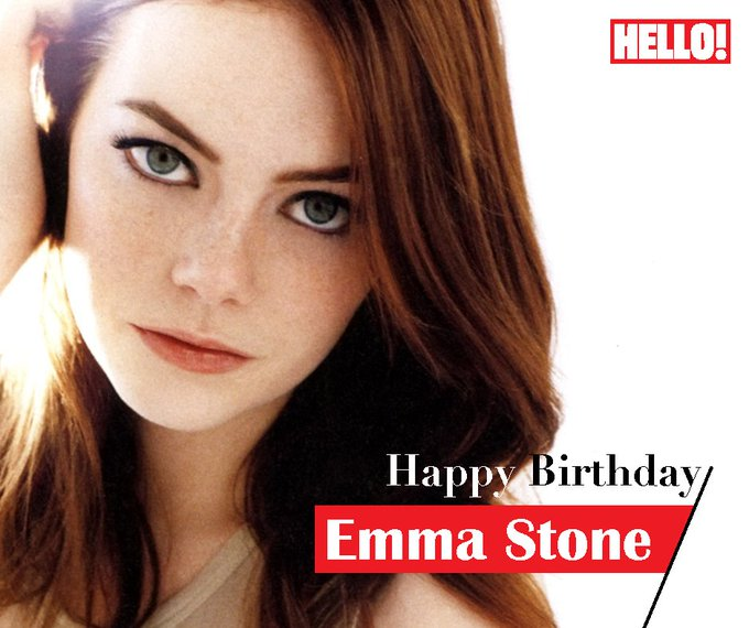 HELLO! wishes Emma Stone a very Happy Birthday