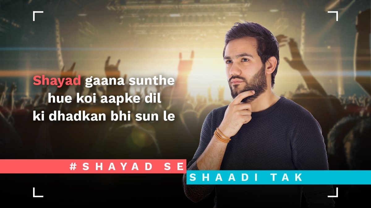test Twitter Media - Concerts = crowded + sweaty people!  Find someone who will match your tune elsewhere. #ShayadSeShaadiTak https://t.co/OvKX1jt9Zr