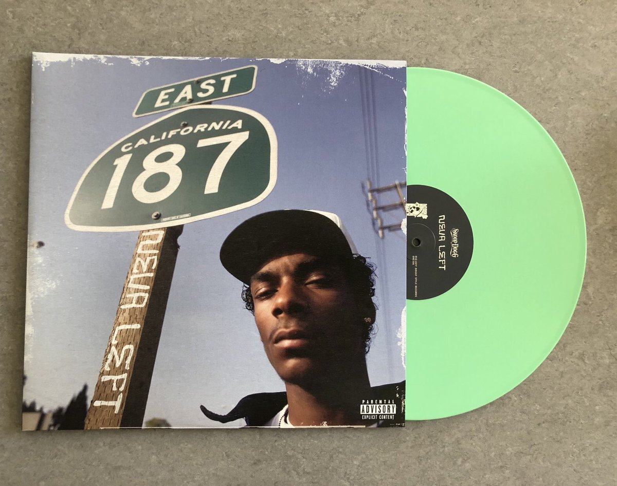 Neva Left vinyl available next Fri ✔️ record store day exclusive green vinyl 🔥