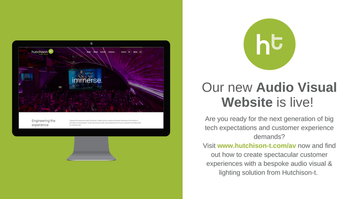 Image for Our New Audio Visual Website is Live! Are you ready for the next generation of big tech expectations and customer experience demands? Visit https://t.co/7rmFzbyVcF if you want to create spectacular customer experiences with an audio visual & lighting