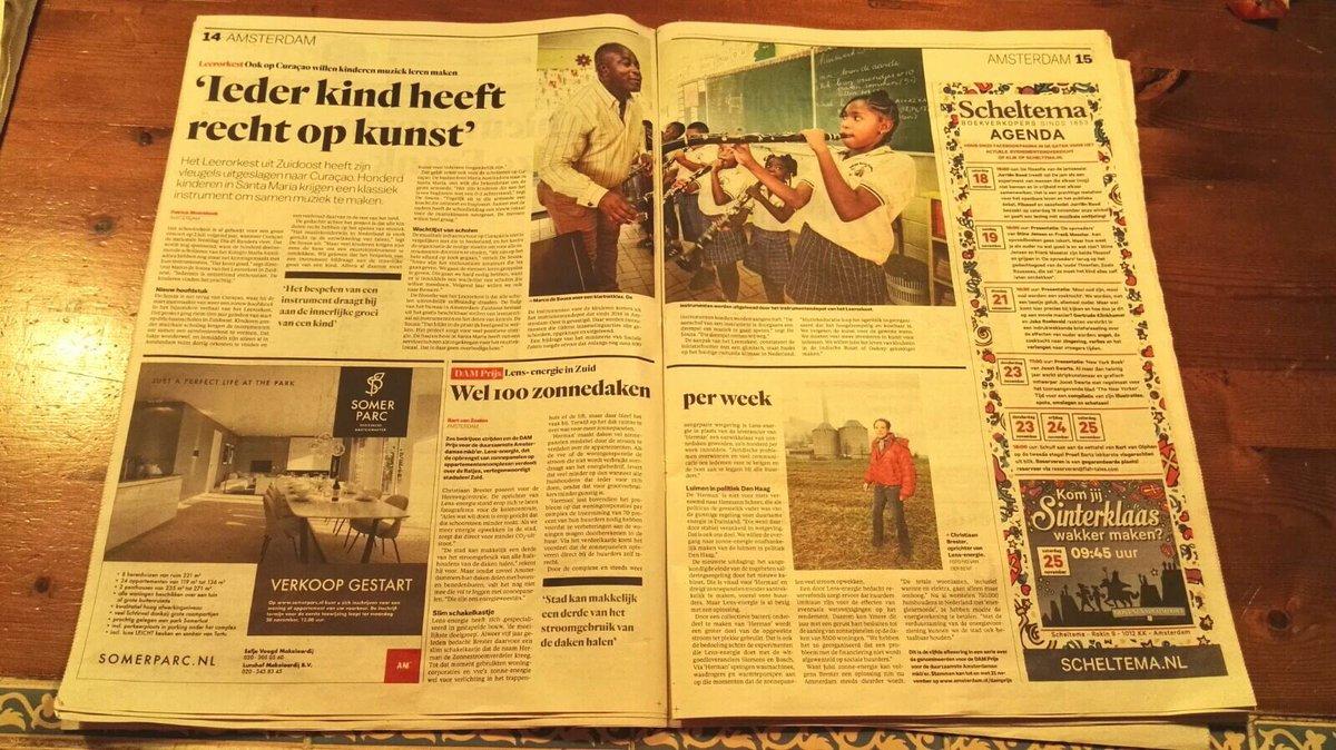 test Twitter Media - Mooi artikel over @leerorkest @adamzuidoost @LO_curacao #geweldig ieder #kind heeft recht op kunst https://t.co/IFEWfMzHEe