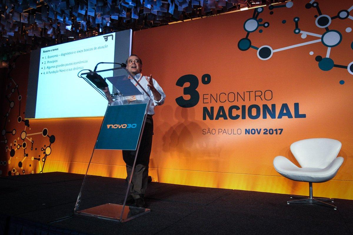 @BroadcastImagem: Gustavo Franco participa do 3º Encontro Nacional do Partido Novo em São Paulo. Felipe Rau/Estadão