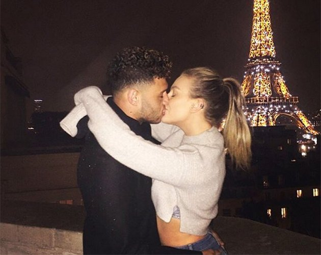 Perrie Edwards Shares An Update About Alex Oxlade Chamberlain