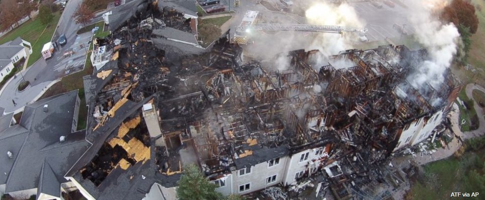 At least 27 injured, others unaccounted for after massive fire at senior living center.
