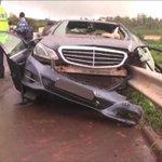 Nyeri governor Dr. Wahome Gakuru killed in early morning road crash