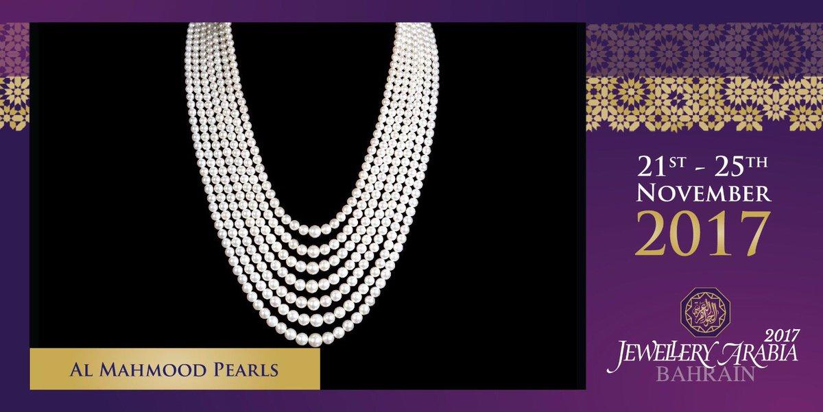 test Twitter Media - Al-Mahmood Pearls is a Bahraini Luxury Jewellery house established since 1930 💍 #almahmoodpearls #jewelleryarabia2017 #elegant #beautiful #classy #amp https://t.co/amhaceTbBe