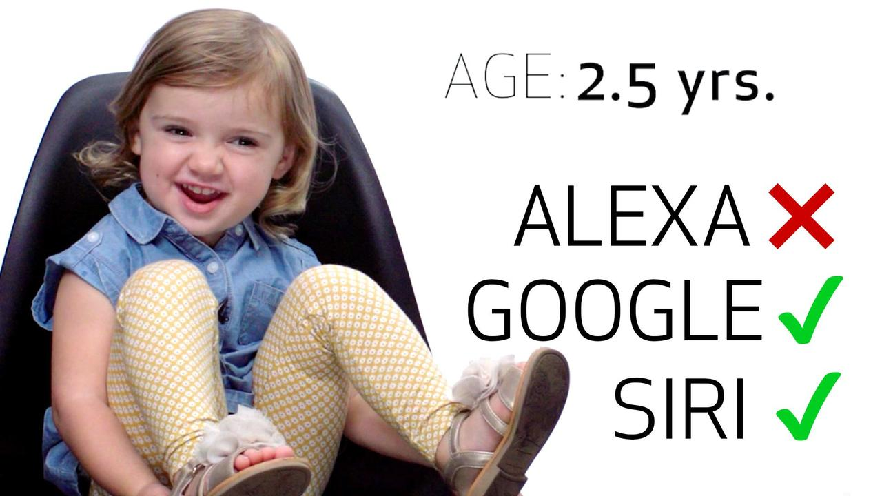 8 children put Siri, Amazon Echo, and Google Home to the test. https://t.co/YtaoRCJ4KS