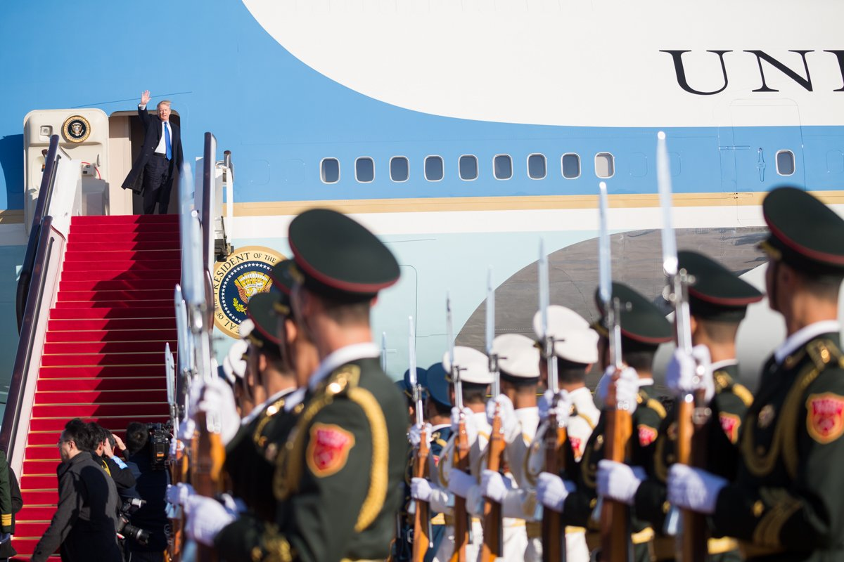 President Trump has completed the fourth leg of #POTUSinAsia: https://t.co/2EdlNGZPYw https://t.co/kisYaNO6Lv