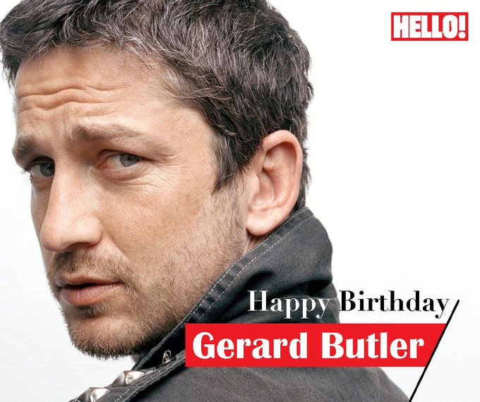 HELLO! wishes Gerard Butler a very Happy Birthday