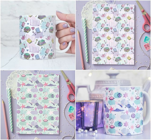 Jilly Jilly Book Lover & Space Mugs & Notebooks Giveaway