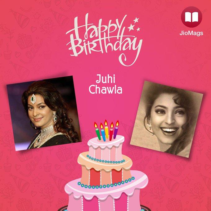 JioMags wishes Juhi Chawla a very Happy Birthday