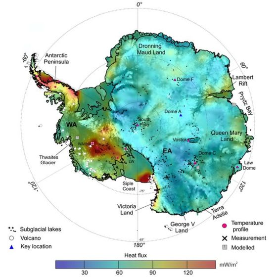 Antarctica's warm underbelly revealed