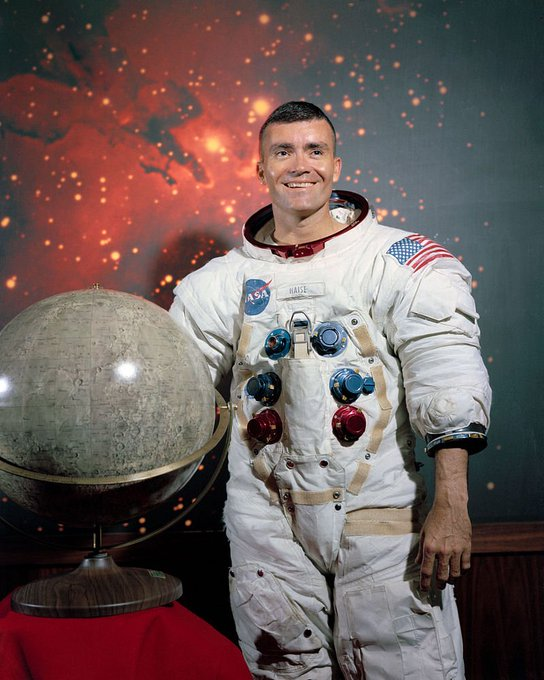 Happy birthday, Apollo 13 astronaut Fred Haise!