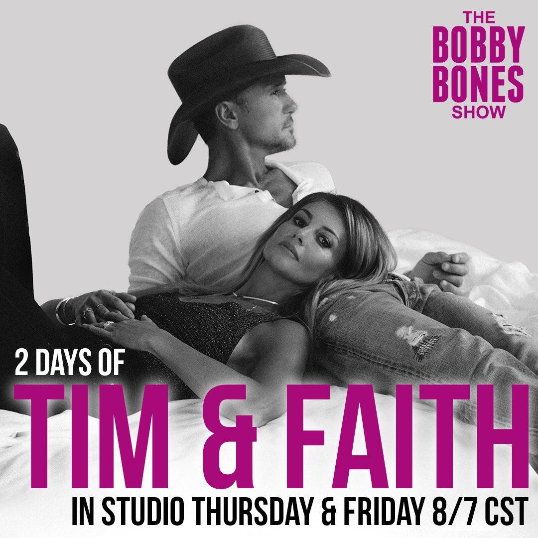 Back to back mornings with @mrBobbyBones. Listen in tomorrow! #therestofourlife https://t.co/K5zLrWsD4c