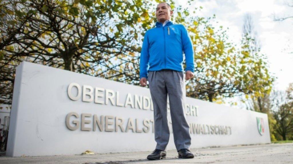 Peruvian farmer presses climate claim on German polluter