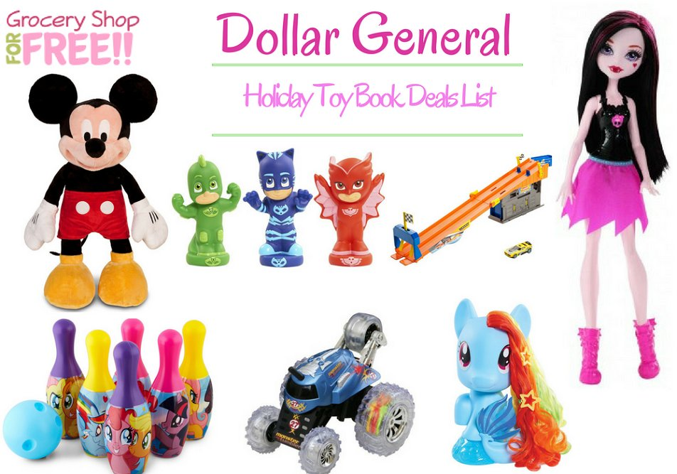 blackfriday Dollar General Toy Book Deals...