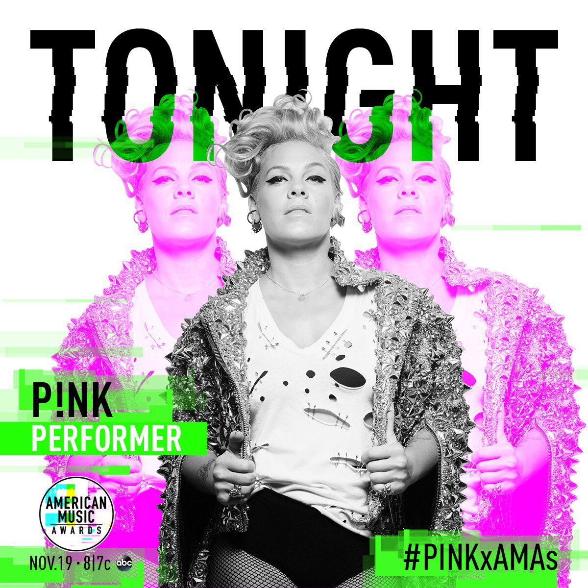 Are you ready? Who are you most excited to see tonight?   @AMAs #AMAs   @Pink  @BTS_twt  @ddlovato  @NiallOfficial https://t.co/eMiNlcVtwO