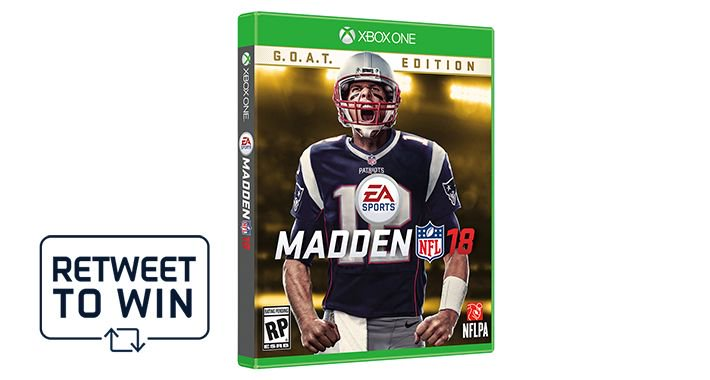 #MaddenMonday on Victory Monday!  RT to enter to win a copy of @EAMaddenNFL 18. Rules: https://t.co/izdlfEHULb https://t.co/nW6RxFBFpn