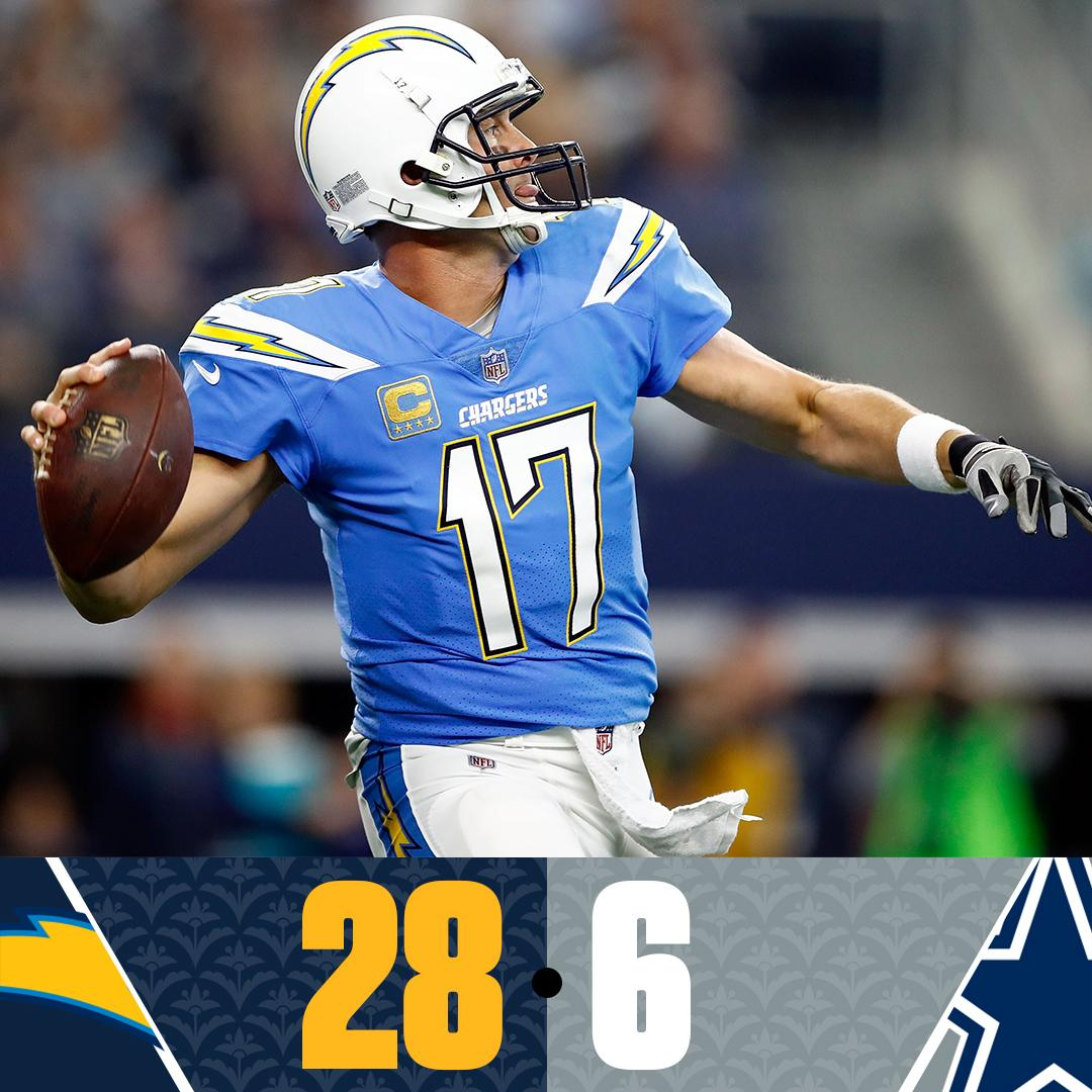 The Chargers get it done in Big D. https://t.co/YfHic5LI42