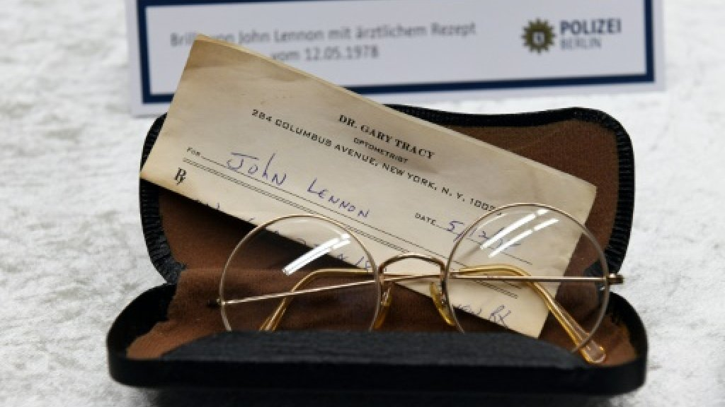 Berlin police seeking more missing John Lennon items