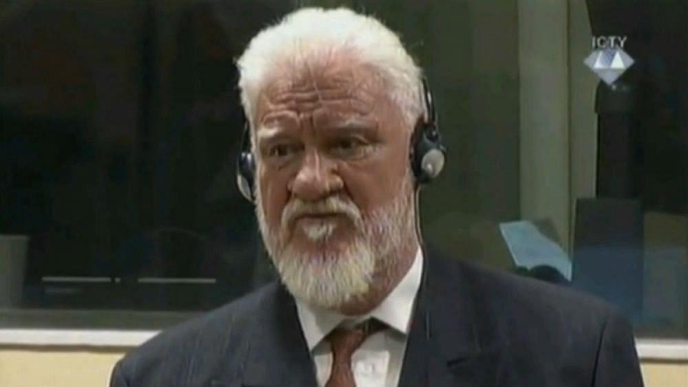 Bosnian Croat war criminal Praljak died of 'cyanide poisoning'
