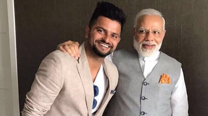 Birthday Greetings To Suresh Raina Ji . May God Bless You With Long , Healthy And Happy Life !!