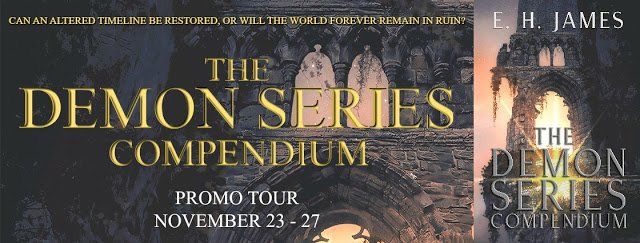 #BookLaunch & #Contest: The Demon Series E.H James