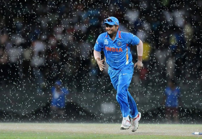 HAPPY BIRTHDAY To cricketer Suresh Raina.May God bless you hearty and healthy life.