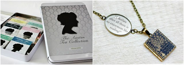 Jane Austen Tea & Necklace Giveaway