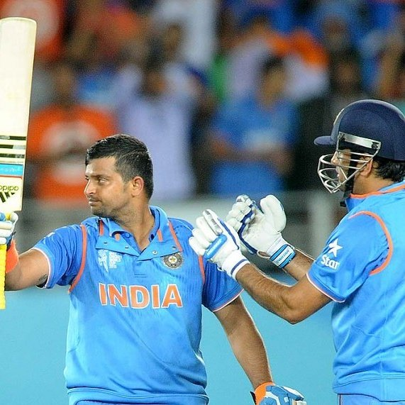 Wishing a very Happy Birthday to Indian middle order, Suresh Raina.